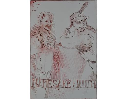 Colour engraving - Ruth - Namesake